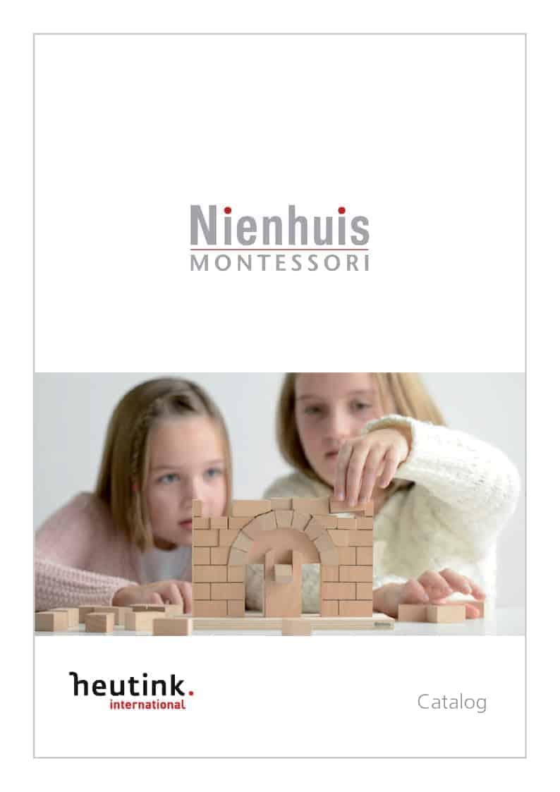 Cover catalogue Nienhuis Montessori 2019