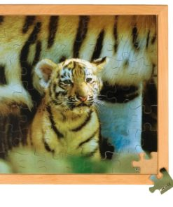 Photo puzzle: tiger - Educo