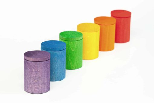 Coloured cups with lid - Grapat