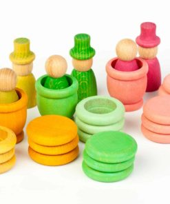Handmade sustainable wooden toy Aguamarina Spring - Grapat
