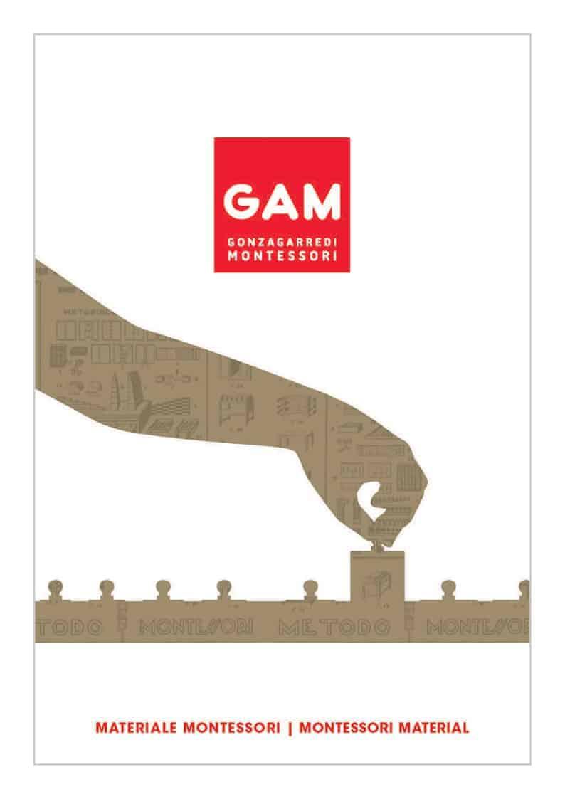 Cover Gonzagarredi Montessori Materials Catalogue - 2019