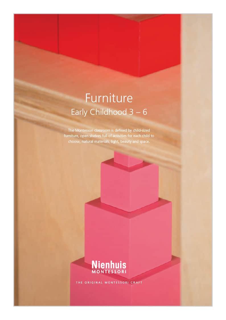 Cover Nienhuis School Furniture Catalogue - 2019