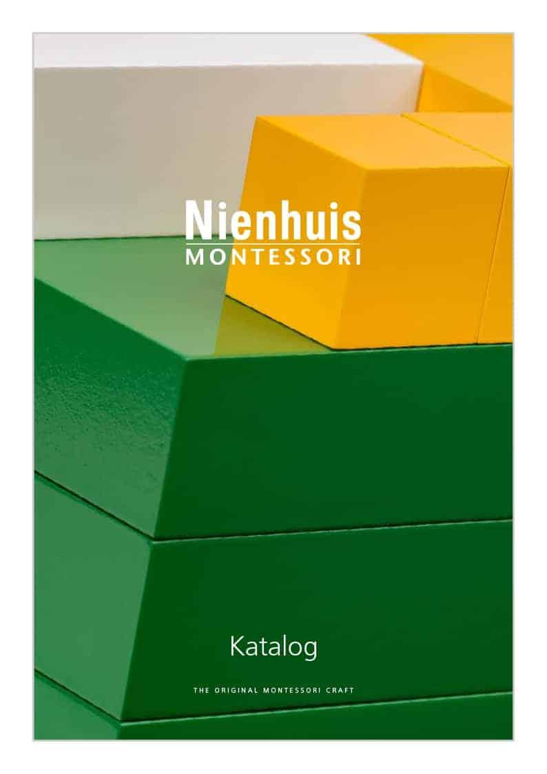 Cover catalogue Nienhuis Montessori 2019_German