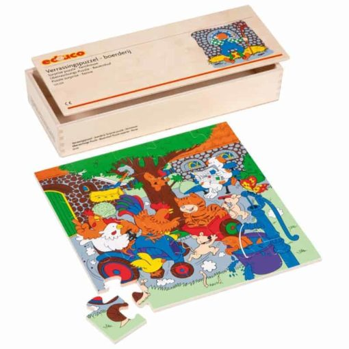 Surprise puzzle farm - Educo