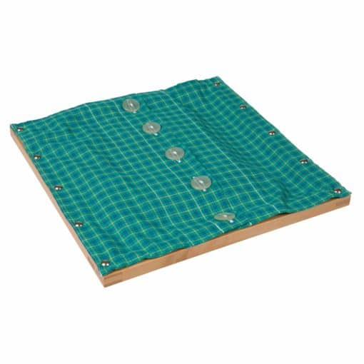 Buttoning Frame With Large Buttons - Nienhuis Montessori