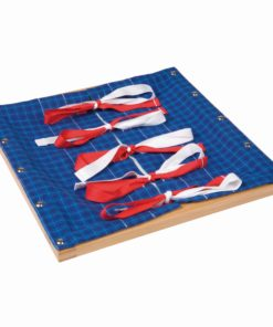 Cadre d'apprentissage du noeud de cocarde - Nienhuis Montessori