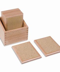 Rough Gradation Tablets - Nienhuis Montessori
