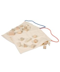 Sacs mystère, formes géométriques - Nienhuis Montessori