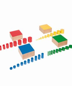 Set Of Knobless Cylinders - Nienhuis Montessori