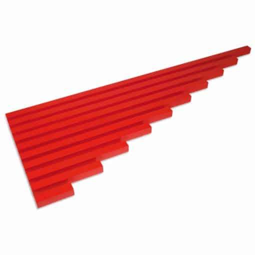 The Red Rods - Nienhuis Montessori