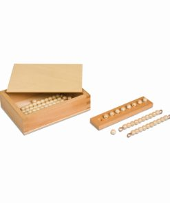 Tens Bead Box: Individual Beads (Glass) - Nienhuis Montessori