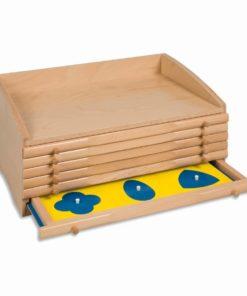 Cabinet de géometrie - Nienhuis Montessori