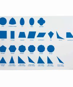 Geometric Cabinet Control Chart - Nienhuis Montessori