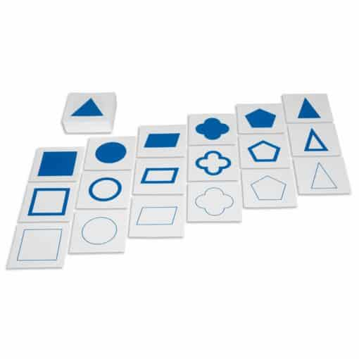 Geometric Form Cards - Nienhuis Montessori