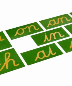 Digrammes rugueux francais - Nienhuis Montessori