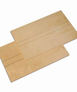 Montessori language material Wooden Boards: Set Of 2 - Nienhuis Montessori