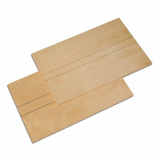 Wooden Boards: Set Of 2 - Nienhuis Montessori