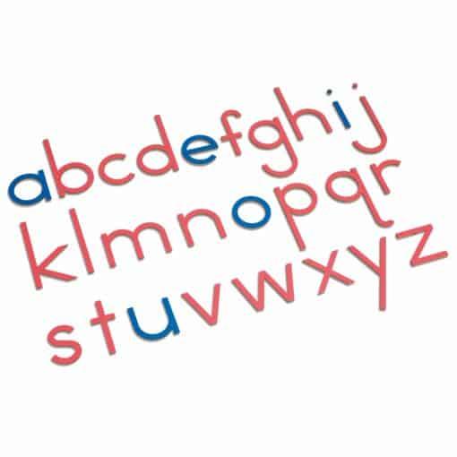 Wooden Movable Alphabet: International Print - Nienhuis Montessori