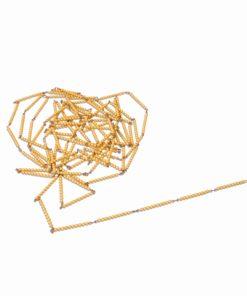 Montessori mathematics bead material Montessori mathematics material Golden Bead Chain Of 1000: Individual Beads (Nylon) - Nienhuis Montessori