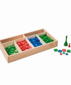 Jeu de timbre - Nienhuis Montessori