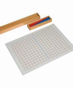 Montessorimathematics material Subtraction Strip Board - Nienhuis Montessori