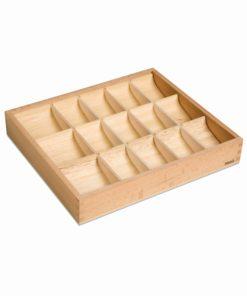 Grammar Symbols Box: 15 Compartments - Nienhuis Montessori