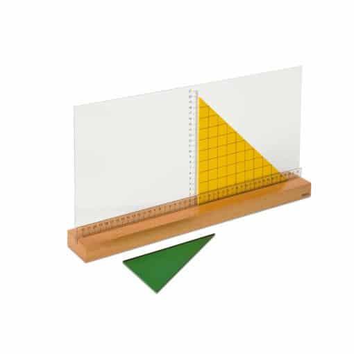 """Support pour mesure de la hauteur, """"cm""""- Nienhuis Montessori"""