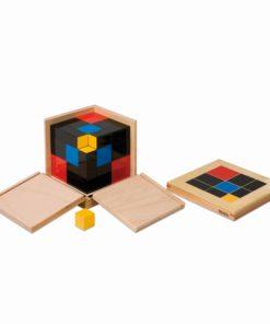 Trinomial Cube - Nienhuis Montessori