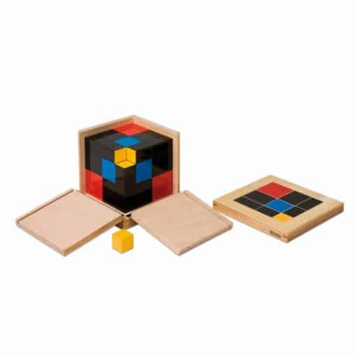 Cube du trinôme  - Nienhuis Montessori