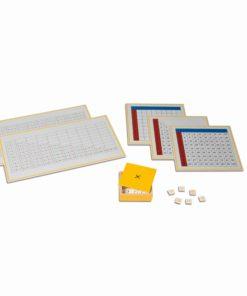 Multiplication Working Charts - Nienhuis Montessori