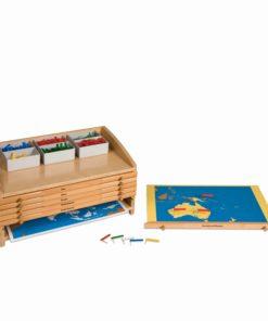 Cabinet Of The World Parts - Nienhuis Montessori