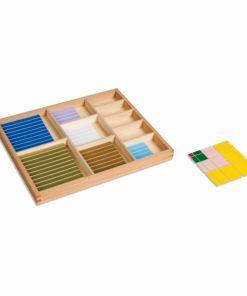 Sensorial Decanomial - Nienhuis Montessori