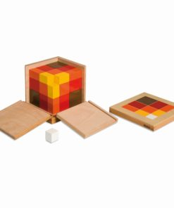 Arithmetic Trinomial Cube - Nienhuis Montessori