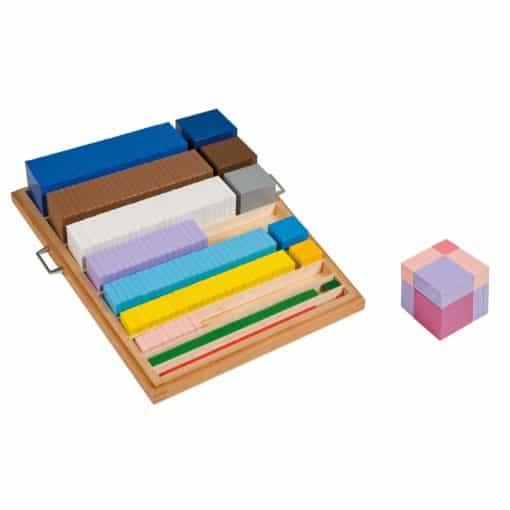 Materiel d'élévation au cube - Nienhuis Montessori