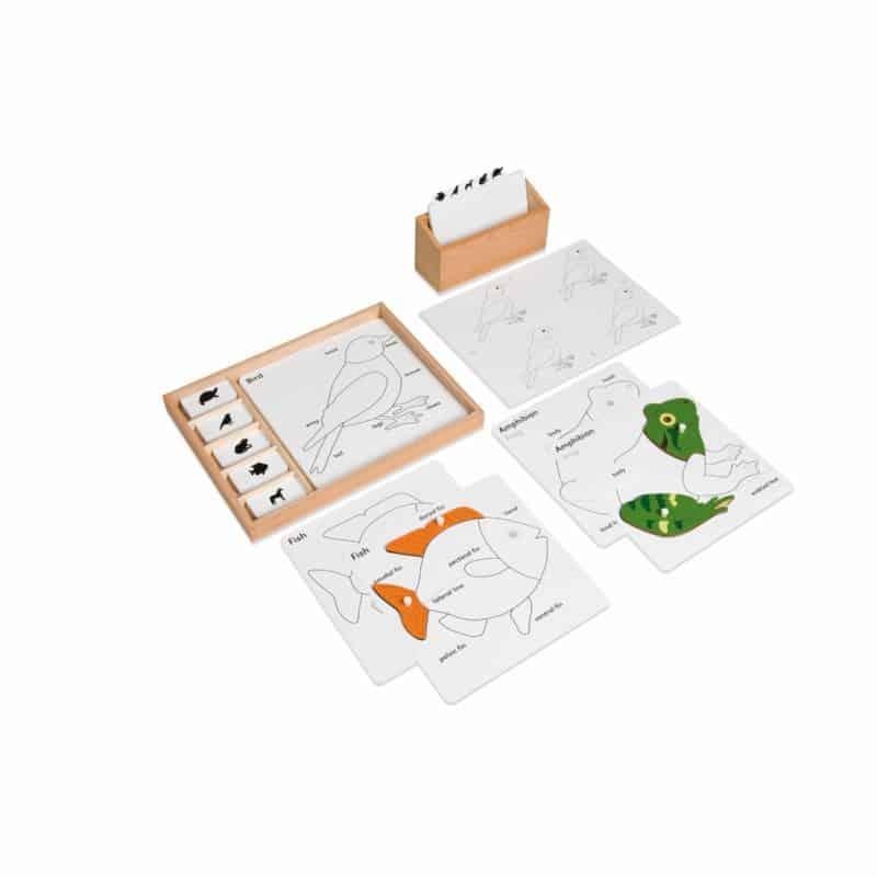 Animal Puzzle Activity Set - Nienhuis Montessori