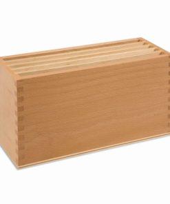 Montessori geography material Box For Land Form Cards - Nienhuis Montessori