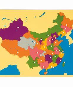 Puzzle Map: China - Nienhuis Montessori