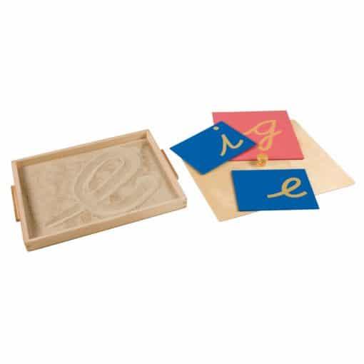 Sandpaper Letter Tracing Tray - Nienhuis Montessori