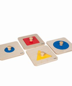 Single Shape Puzzle Set - Nienhuis Montessori