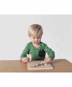 Puzzle petite enfance: giraffe - Nienhuis Montessori