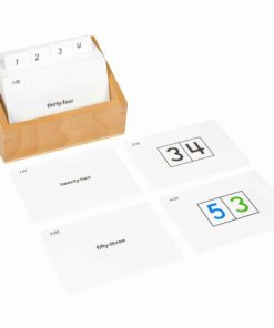 Cartes d'exercices pour les tables de seguin 2 - Nienhuis Montessori