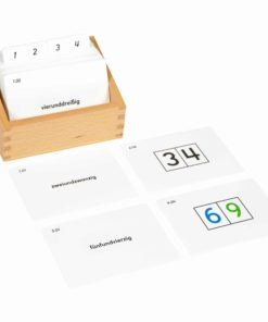 Tens Boards Activity Set (German version) - Nienhuis Montessori