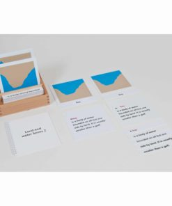 Land And Water Form Cards: Set 2 - Nienhuis Montessori