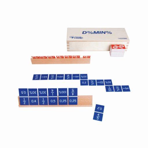 Percentage dominoes - Jegro