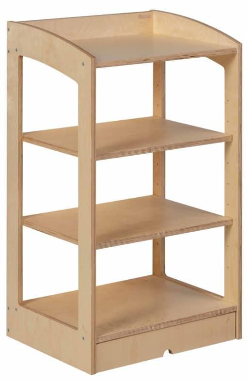 Cabinet de géométrie / biologie : Dos ouvert (93 cm) - Nienhuis Montessori