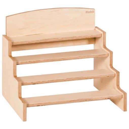 Support pour les blocs des cylindres - Nienhuis Montessori
