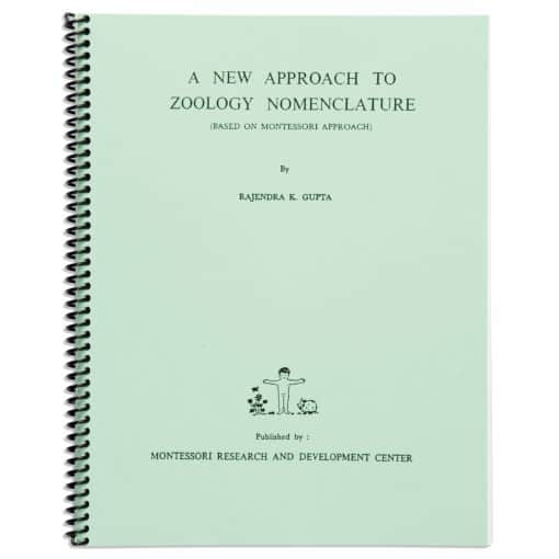 A New Approach To Zoology Nomenclature - Nienhuis Montessori