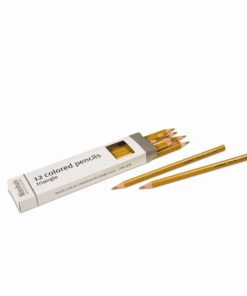 3-Sided Inset Pencil: Gold - Nienhuis Montessori