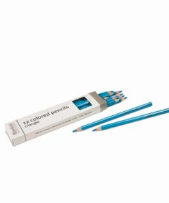 3-Sided Inset Pencil: Light Blue - Nienhuis Montessori