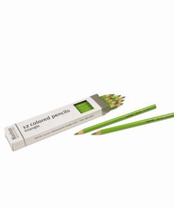 3-Sided Inset Pencil: Light Green - Nienhuis Montessori